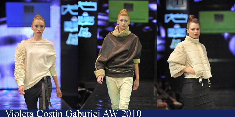 Violeta Costin Gaburici Toamna-Iarna 2010 Romanian Fashion Week Iasi