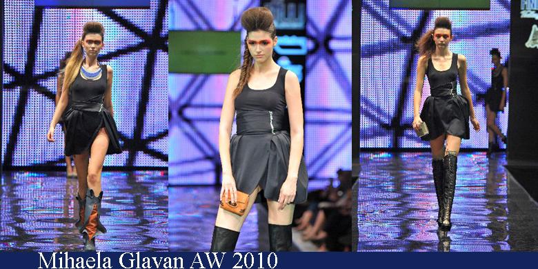 Mihaela Glavan Toamna-Iarna 2010 Romanian Fashion Week Iasi