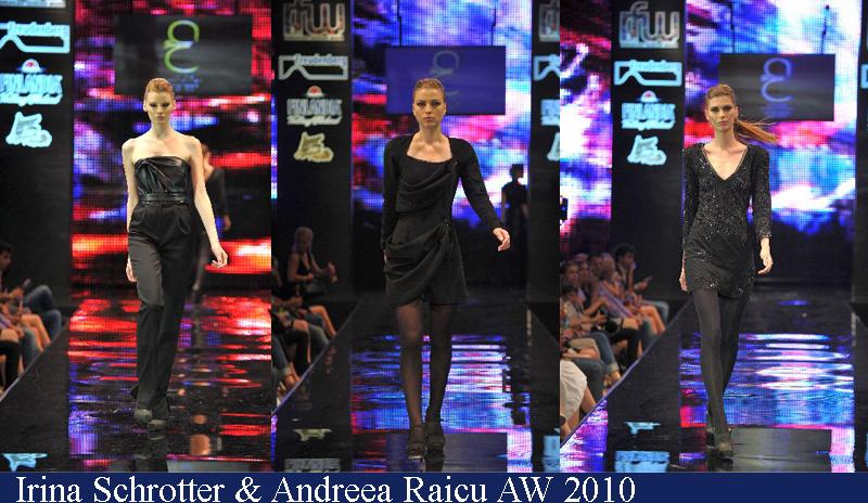 Irina Schrotter & Andreea Raicu Toamna-Iarna 2010 Romanian Fashion Week Iasi