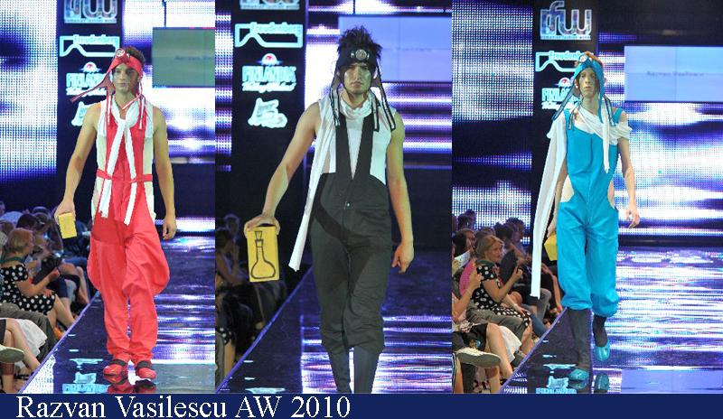 Razvan Vasilescu Toamna-Iarna 2010 Romanian Fashion Week Iasi