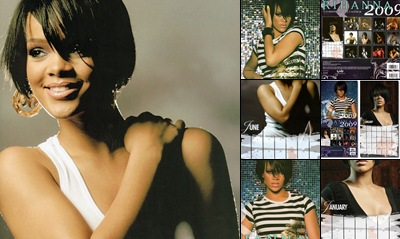 View rihanna official calendar 2009