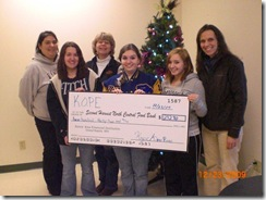 KOPE Deer River donation