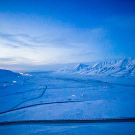 Svalbard by Sverre Sebjørnsen - Landscapes Prairies, Meadows & Fields