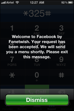 Fonetwish Facebook Update