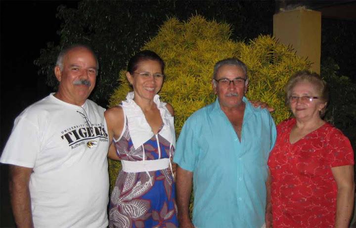 Visitas iustres para a Comunidade Pilões I.