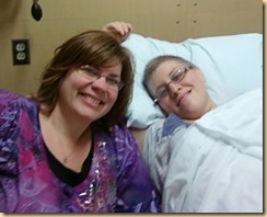 me & Sue at chemo