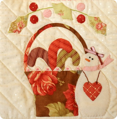 Block Twelve Applique