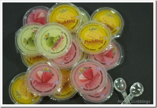 Pudding jelly