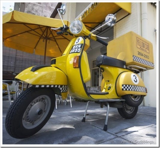 yellow Cab Scooter