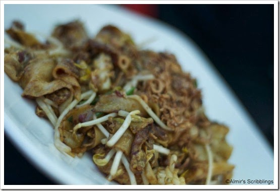 Fried keow teow