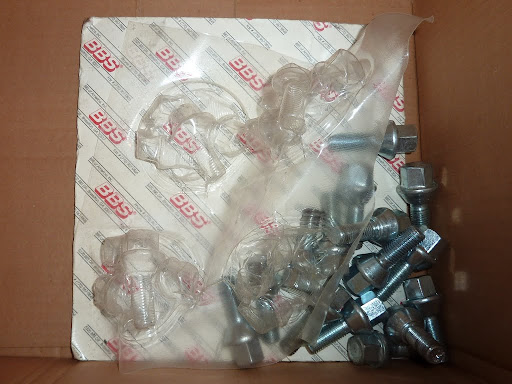 15 BBS lug nuts for VW and BBS