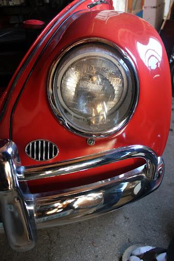 VW sealed beam headlight!