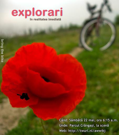 explorari bicicleta bucuresti geo atreides