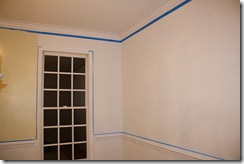 Painting the dining room 030