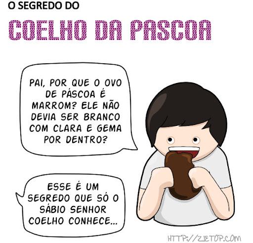 Segredo Coelho Pascoa