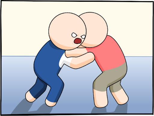 Começa a luta