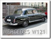 MERCEDES 190 W121