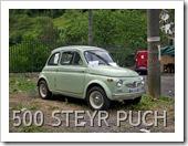 FIAT 500 STEYR PUCH