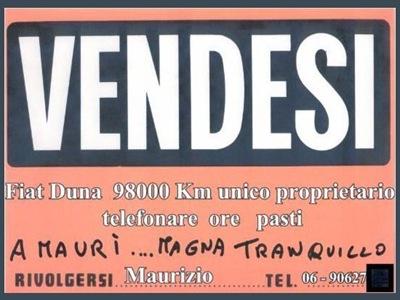 FIAT DUNA ANNUNCIO VENDITA