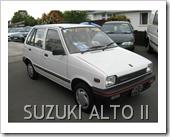 SUZUKI ALTO 1986 2ND GENERATION