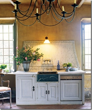 Dream Kitchen Sink and Backsplash Architectural Digest