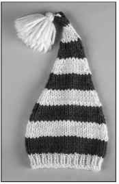 A storybook hat chases away the winter blues.