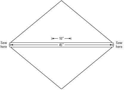 Two smaller triangular shawls make a great poncho.