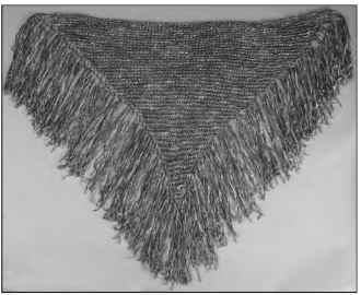 A stunning (and stunningly simple) shawl.