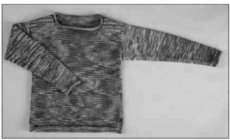 A kid's favorite hand-knit top