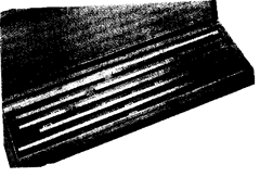 Long series slip gauge.