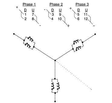 stator winding design considerations (electric motors)  12 pole brushless dc motor winding diagram wiring
