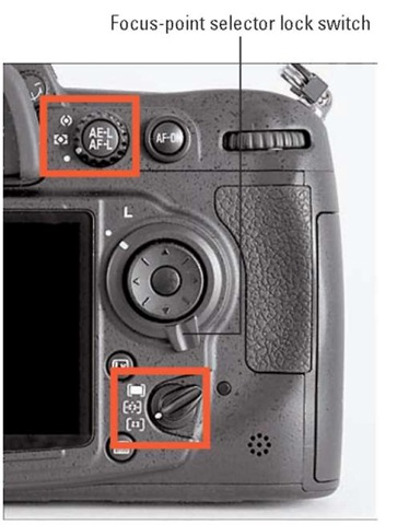These settings work best when you want to use autoexposure lock and autofocusing.