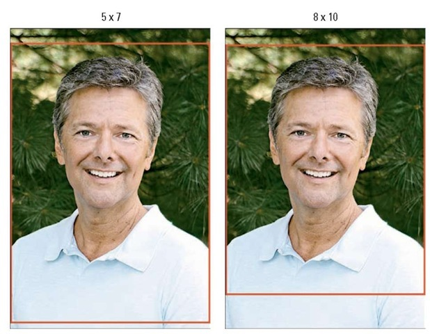 Composing your shots with a little head room enables you to crop to different frame sizes.