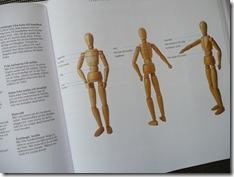 Här skall man mäta enligt Bonniers stora bok om stickning