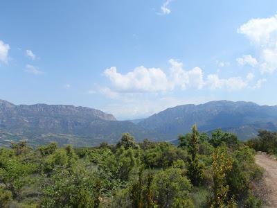 Límit entre el Montsec d'Ares i el Montsec de Rúbies