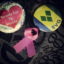 Representing all how #thinkpink #784 #vincy #awarenessmonth #breastcancer by Semesha Corea - News & Events Health