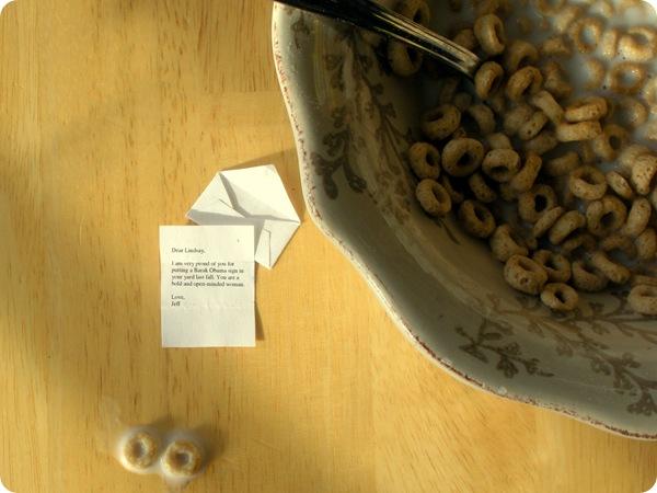 cheerio correspondence