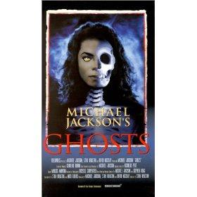 """jaquette afiche film """"ghost"""" michael jackson"""