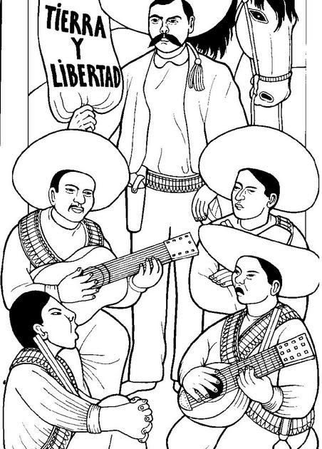 Mexican Revolution Coloring Pages