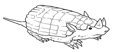 peltephilus prehistoric animal coloring pages