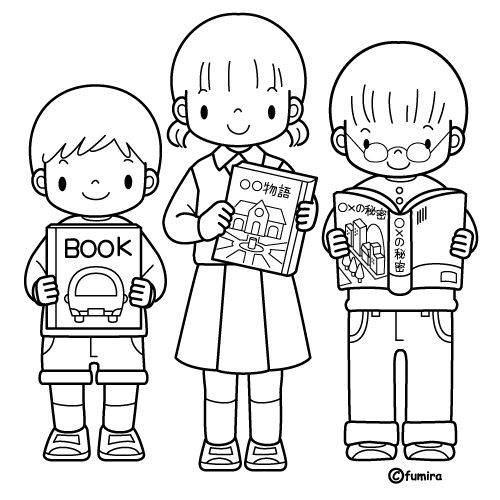 Students Reading Free Coloring Pages Coloring Pages Coloring Pages Students