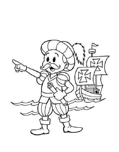 Pinto Dibujos: 12 de octubre de 1492 - Descubrimiento de América ...