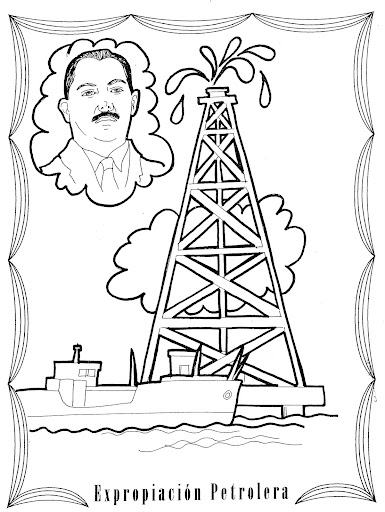 oil derrick coloring pages - photo#18