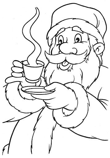 Hot chocolate coloring sheet coloring pages for Hot chocolate coloring page