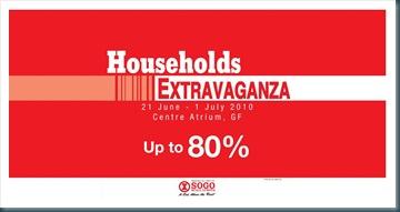 Sogo Household extravaganza