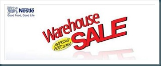 Nestle Warehouse Sale