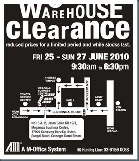 AM-Office Warehouse Sale