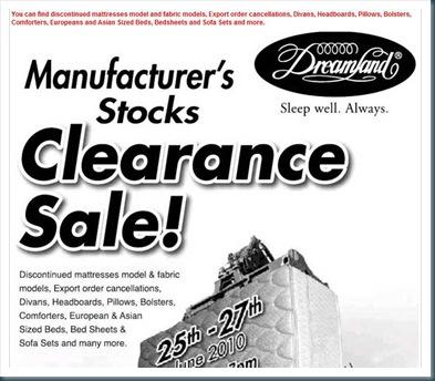 Dreamland Malaysia Clearance Sale