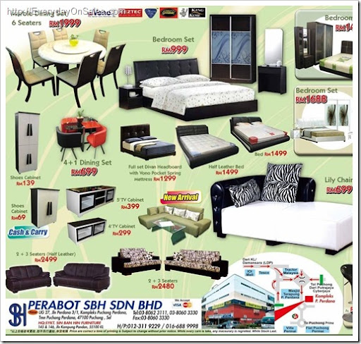 SBH Furniture 2010 Year End Stock Clearance
