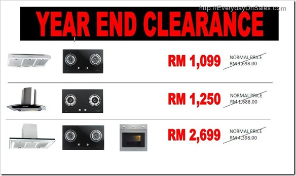 malaysia everyday on sales branded kitchen appliances On year end appliance deals